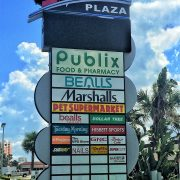 Image of Bellair Plaza sign