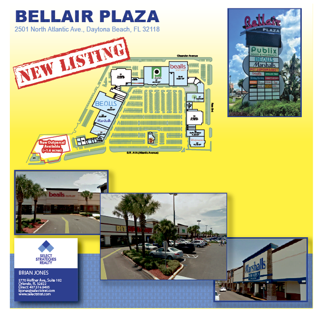 Map of Bellair Plaza
