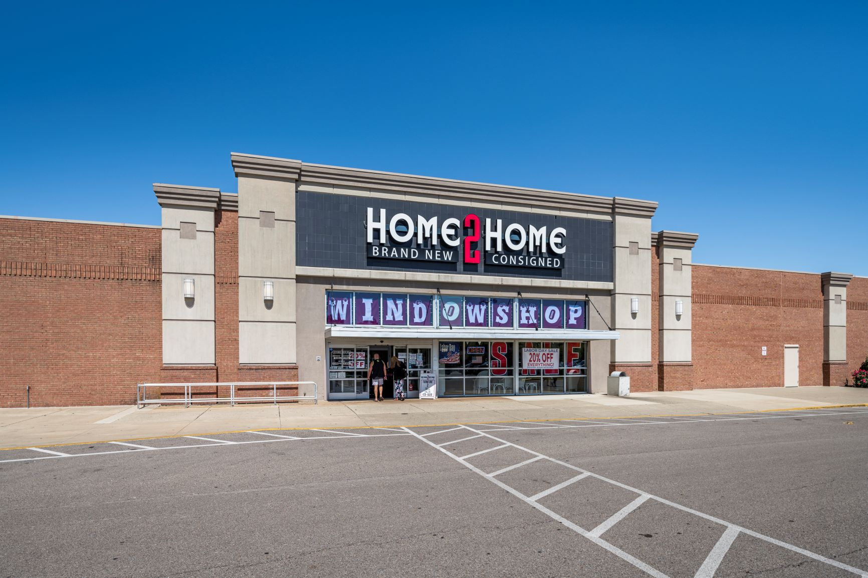 Cross Pointe Shopping Center - Home 2 Home