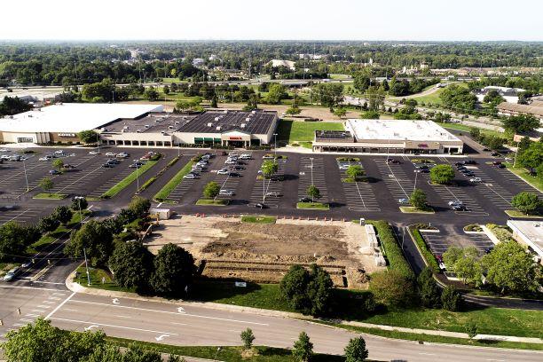 West Park Plaza Aerial Photo