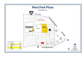 West Park Plaza Site Plan