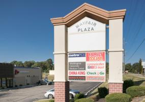 Mayfair Plaza - Sign