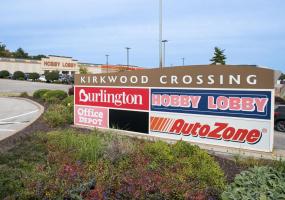 Kirkwood Crossing sign