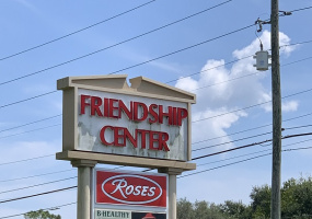 Friendship Center Sign